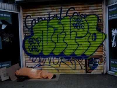 Sans-abris à Bruxelles. Copyright Antonio Ponte